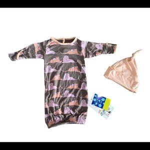 NWT Kickee Pants gown set